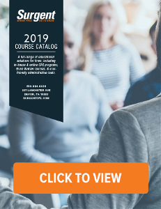 Click to view the 2019 Surgent Course Catalog