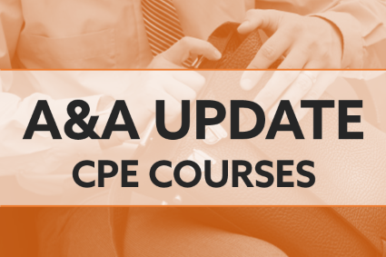 A&A Update CPE Courses