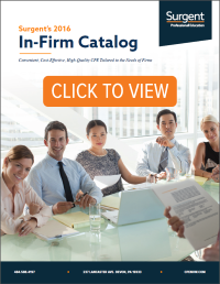 Surgent's In-Firm Catalog - Continuing Professional Education for CPAs